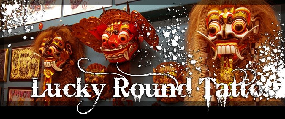 大阪 タトゥー スタジオ[Lucky Round Tattoo]