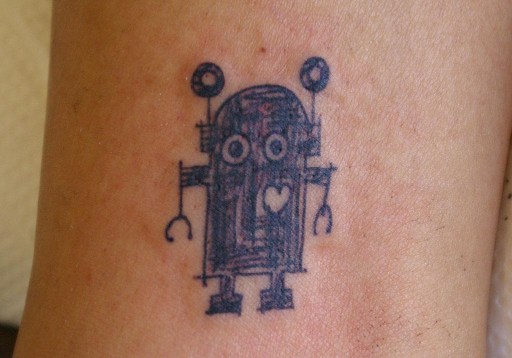 ロボットとハート