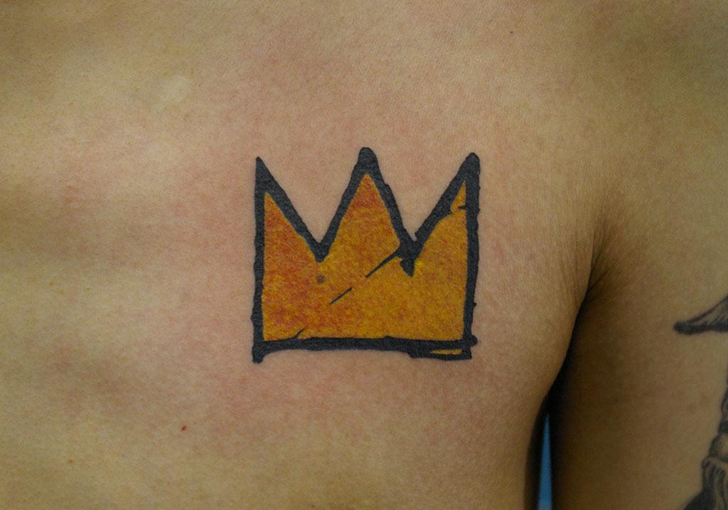 手書き風の王冠