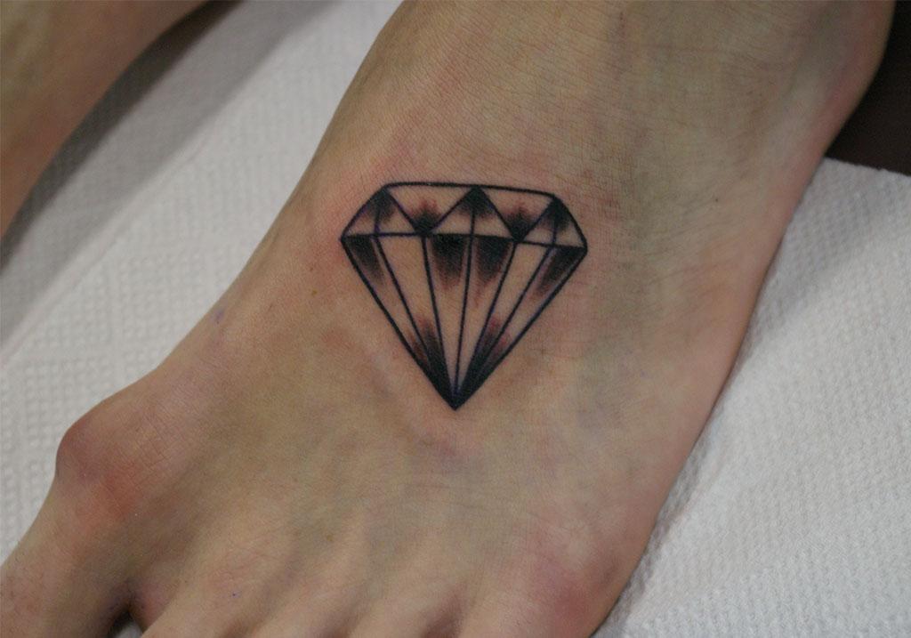 シンプルなダイヤモンド