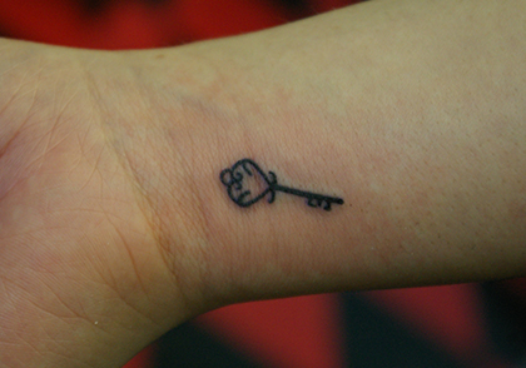 飾りのついた鍵