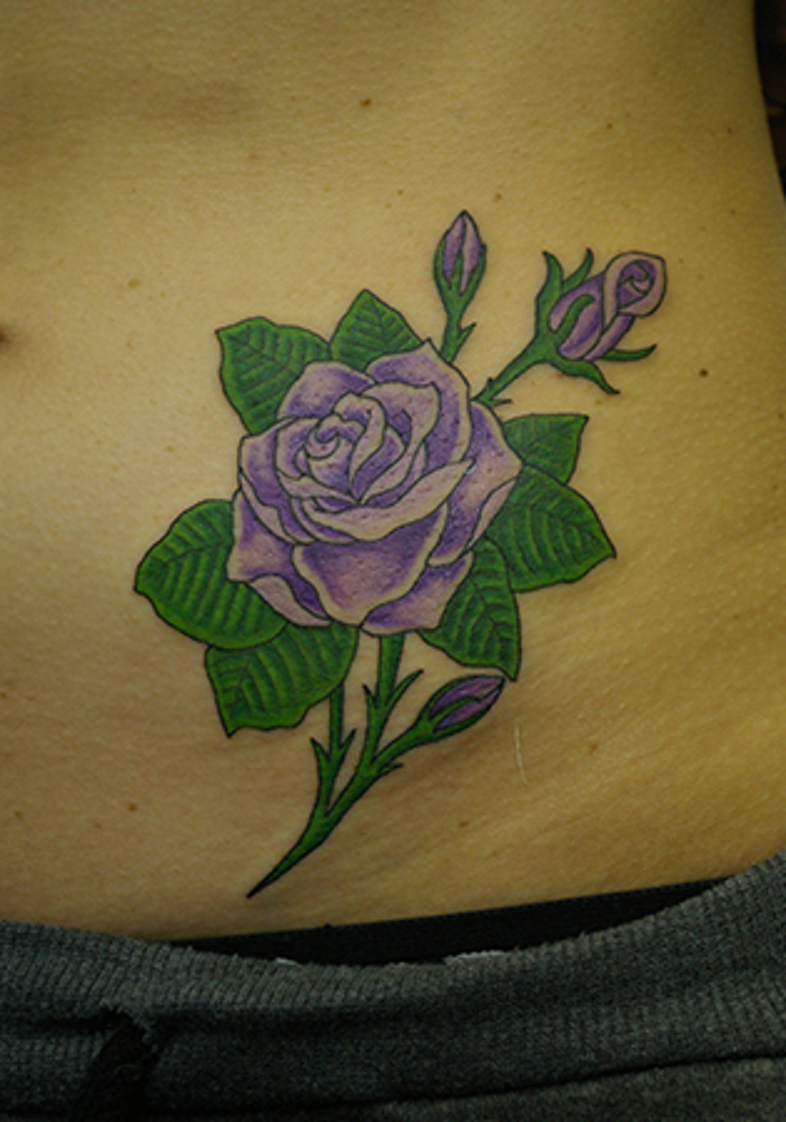 紫色の薔薇