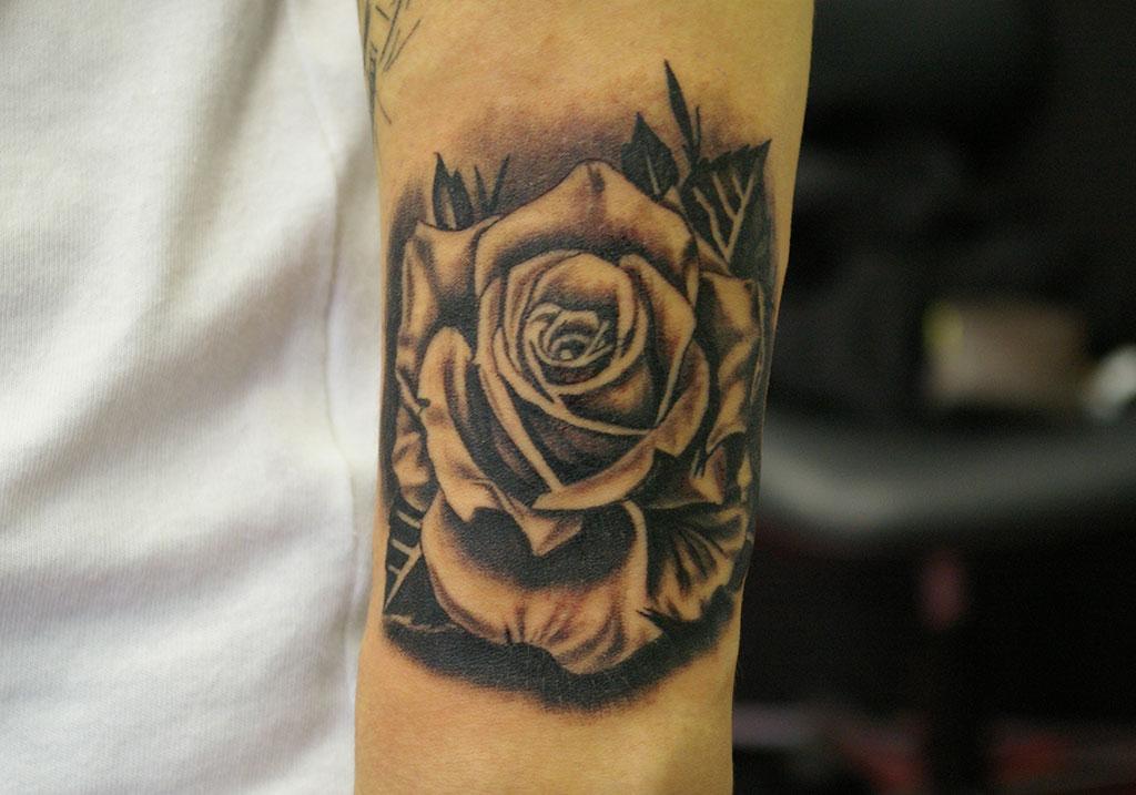 リアリスティックな薔薇