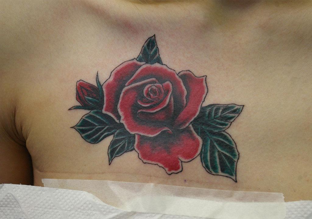 深みのある薔薇