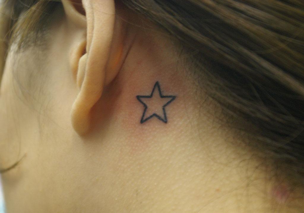 シンプルな星
