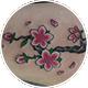 桜の花と木