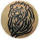 ライオンのトライバルのカバーアップ