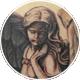 翼のある女神