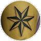 ノーティカルスター風の七芒星