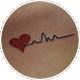 心電図とハート